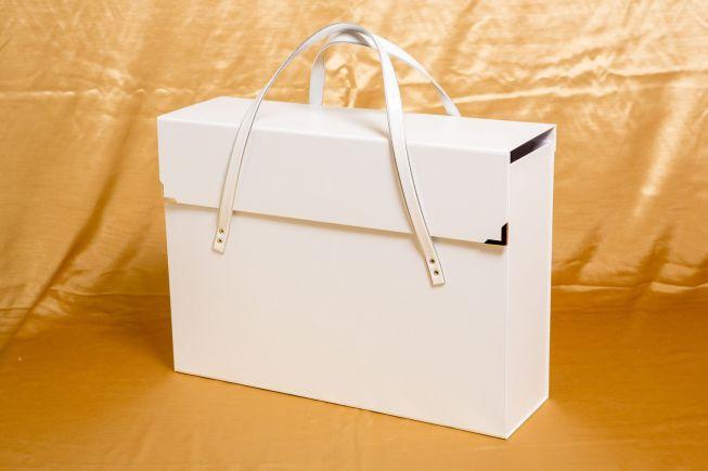 Photo album boxes and cases